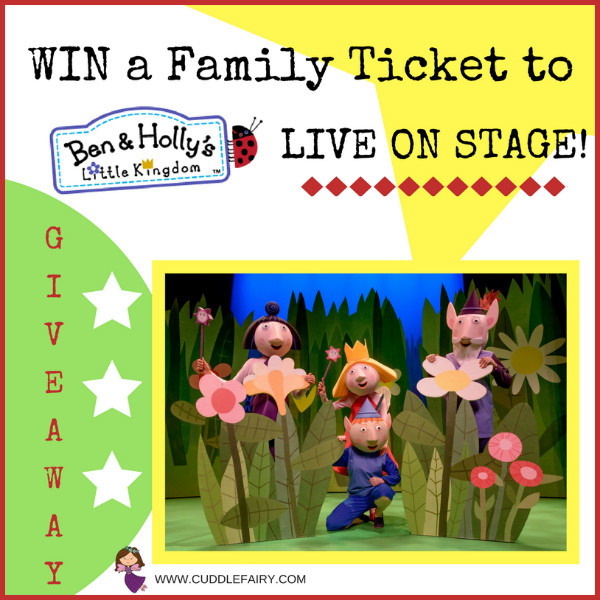 BEN & HOLLY GIVEAWAY