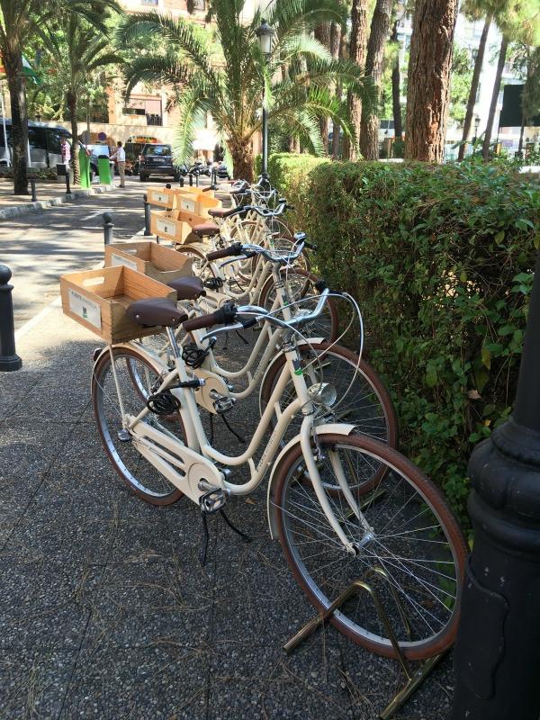 hotel fuerte marbella bikes to borrow