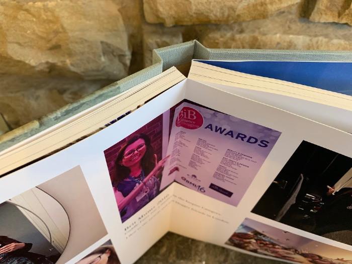 lay flat photo book from pinhole press