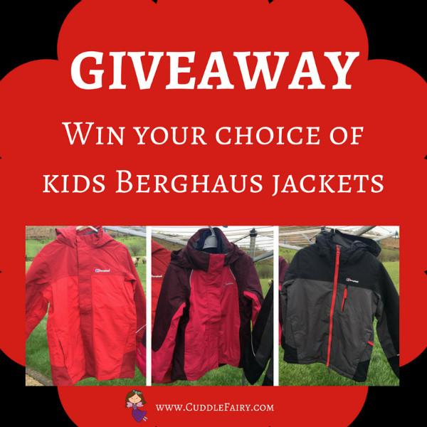 Berghaus jacket giveaway