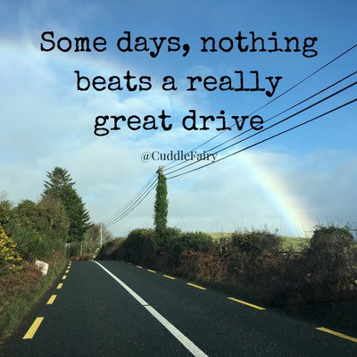 Some days, nothing beats a really great drive quote
