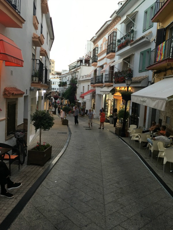 old town marbella top of the town