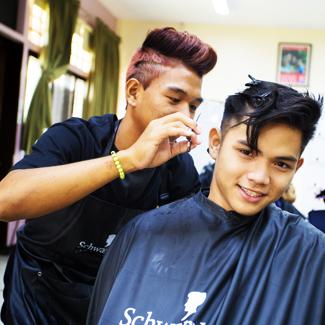 mens hair cut mojo hair and beauty