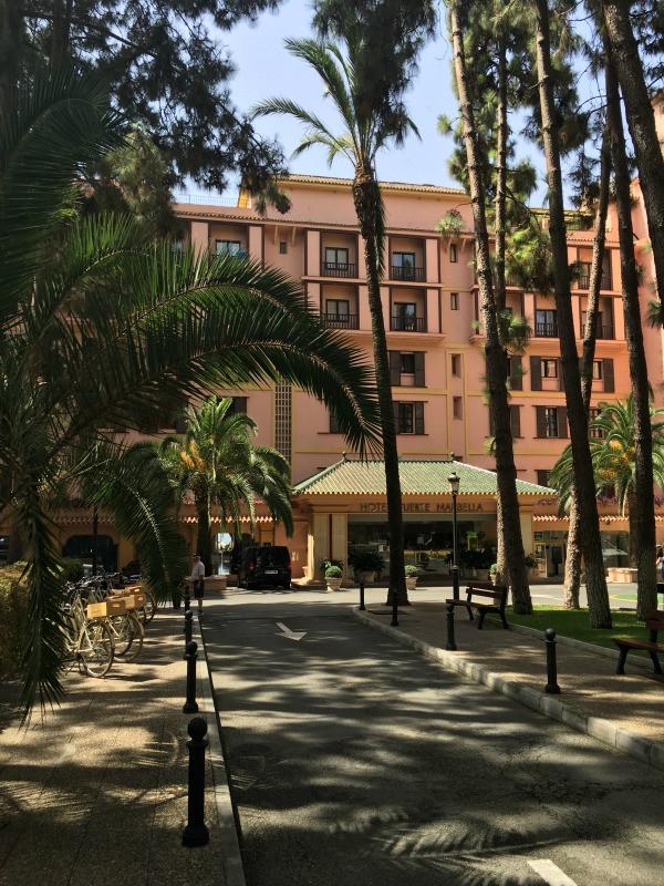 hotel fuerte marbella front of hotel
