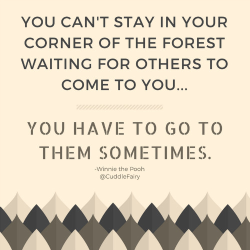 put yourself out there quote