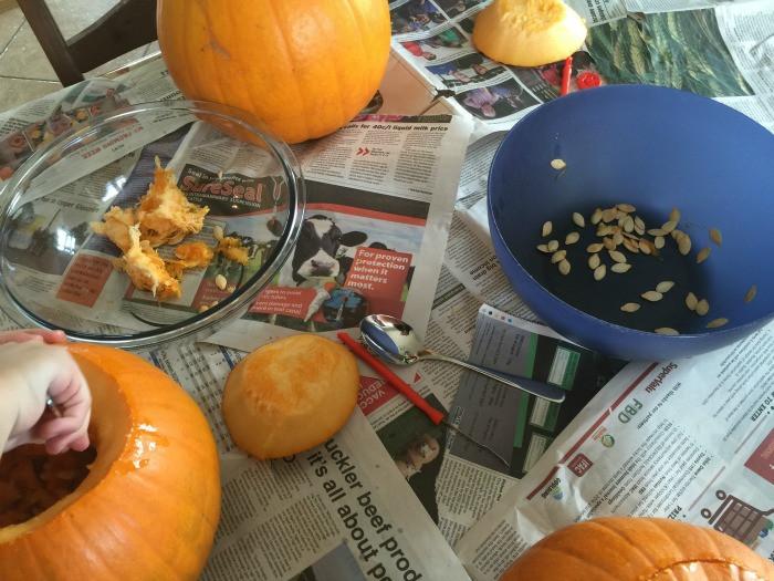 how to carve a pumpkin 4