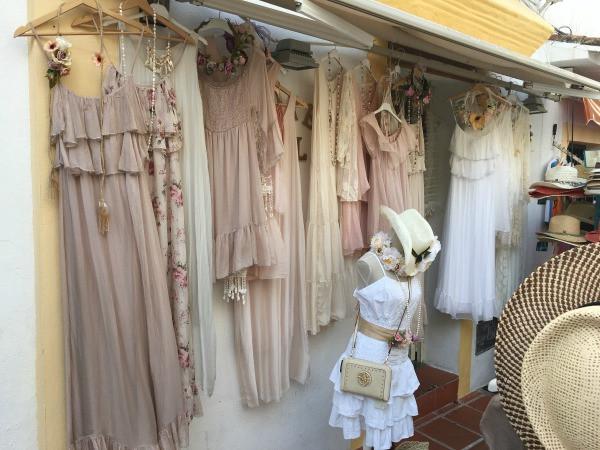 old town marbella dress shop