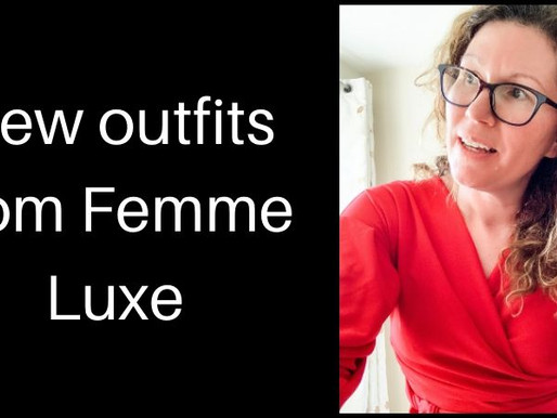New outfits from Femme Luxe