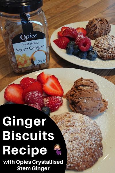 Ginger Biscuits pinterest