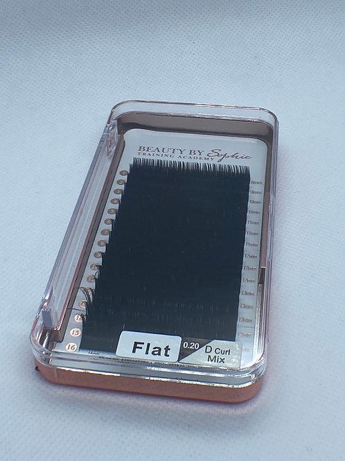 Classic Flat Matte Lashes - 0.20 D curl £13.99