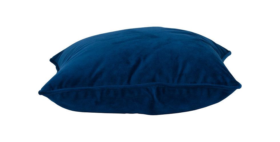 Navy Velvet Cushion 40x40cm