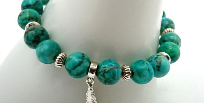 Angel Guidance Bracelet - Turquoise
