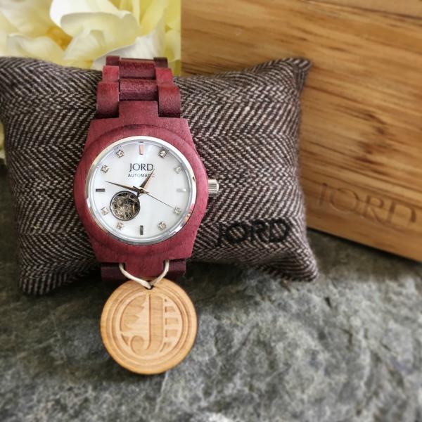 jord wrist watch cora series besides its box