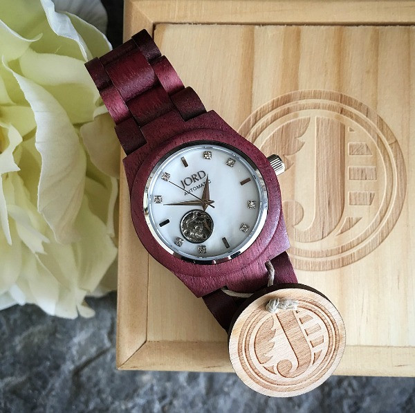 jord wrist watch cora series on it's box