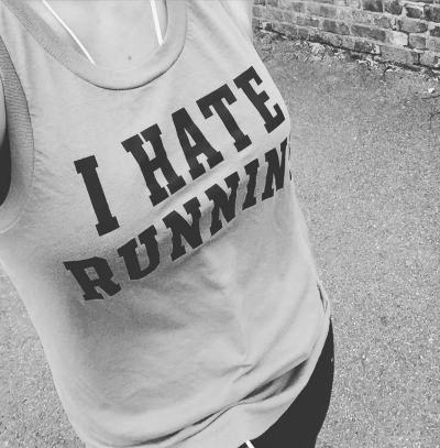 mum muddling through running