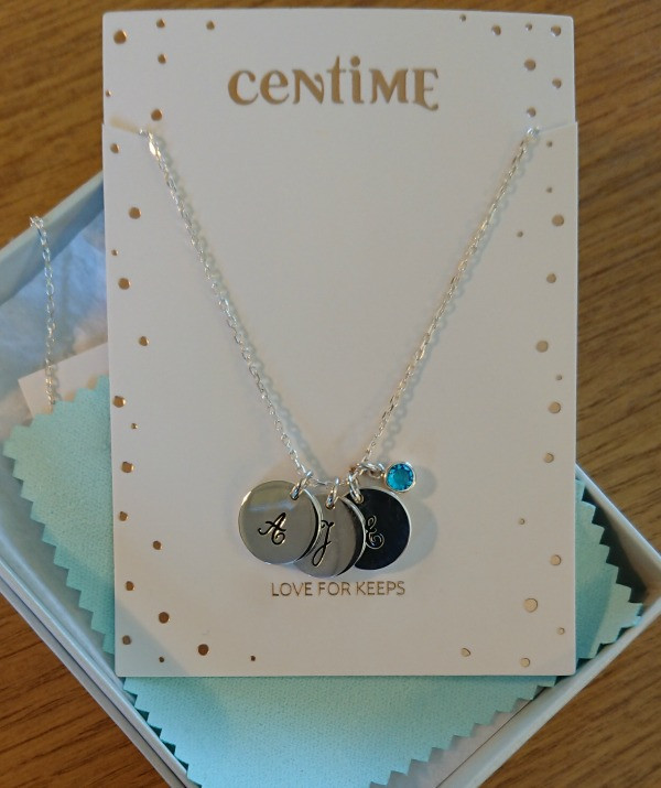 centime gift mother necklace