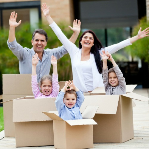 How Moving Affects Your Family Life - getting the kids involved