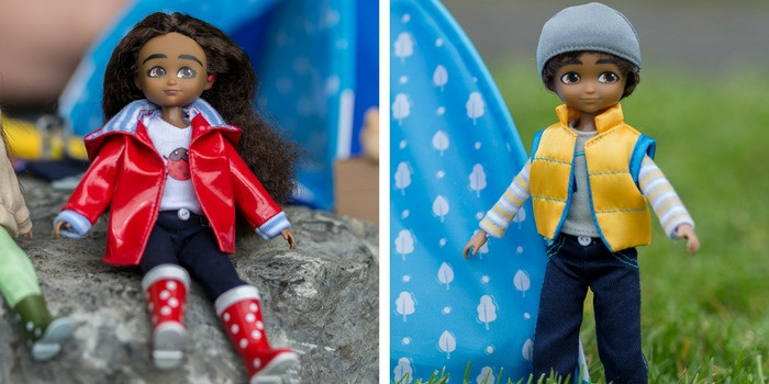 sammi boy and mia lottie dolls