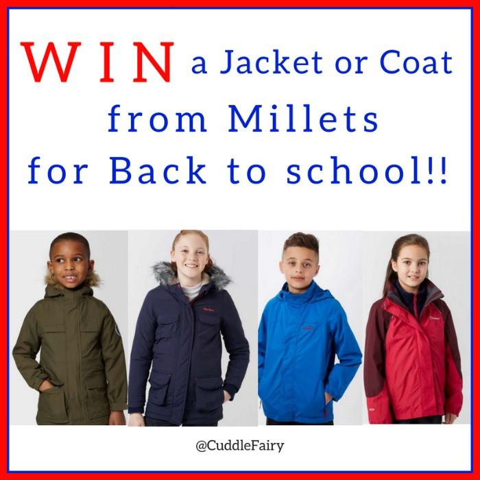 millets back to school coat giveaway