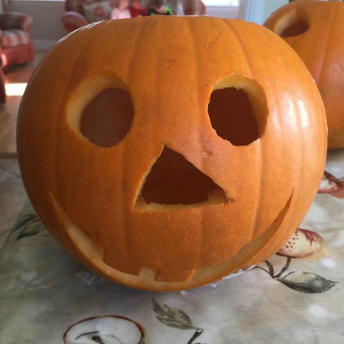 how to carve a pumpkin 7
