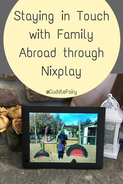 Staying in Touch with Family Abroad through Nixplay pin