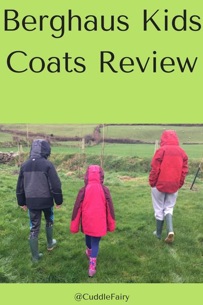 Berghaus Kids Coats Review pinterest