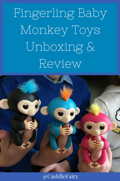 Fingerling Baby Monkey Toys Unboxing & Review pin