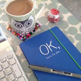 mess and merlot notebook