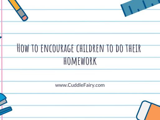 How to encourage children to do their homework