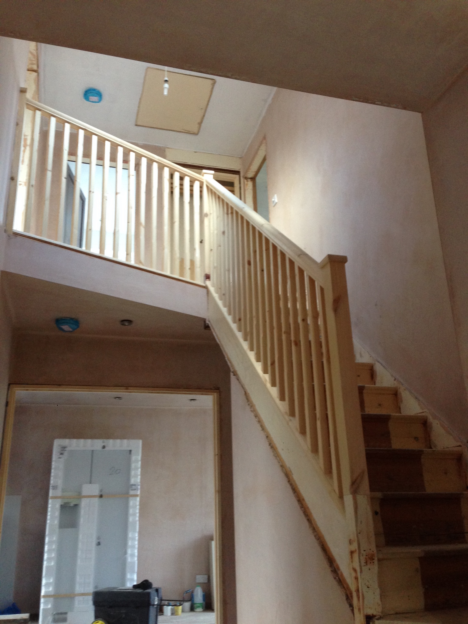 S.T. Joinery Wooden Stair Rail