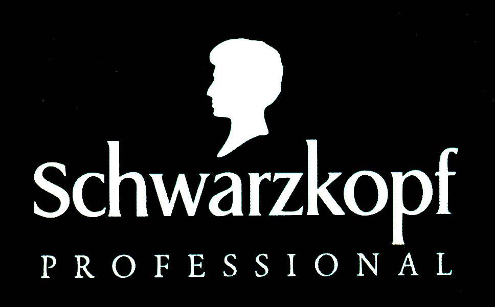 Schwarzkopf professional logo black