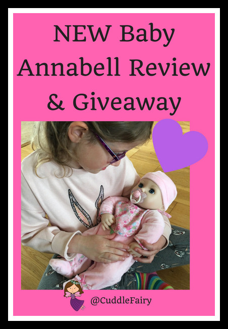 NEW Baby Annabell Review & Giveaway pin