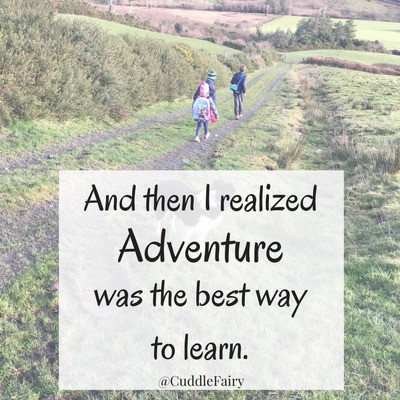 adventure best way to learn quote