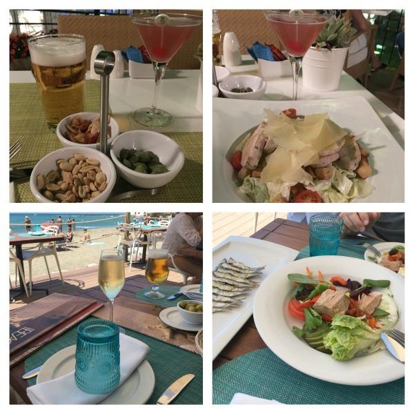 hotel fuerte marbella beach club & bar foods