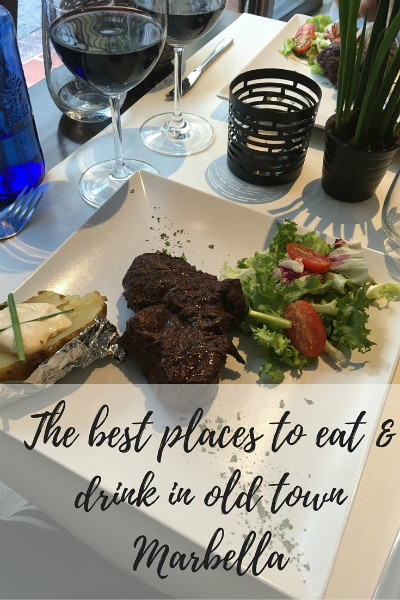 The best places to eat & drink in old town Marbella pinterest