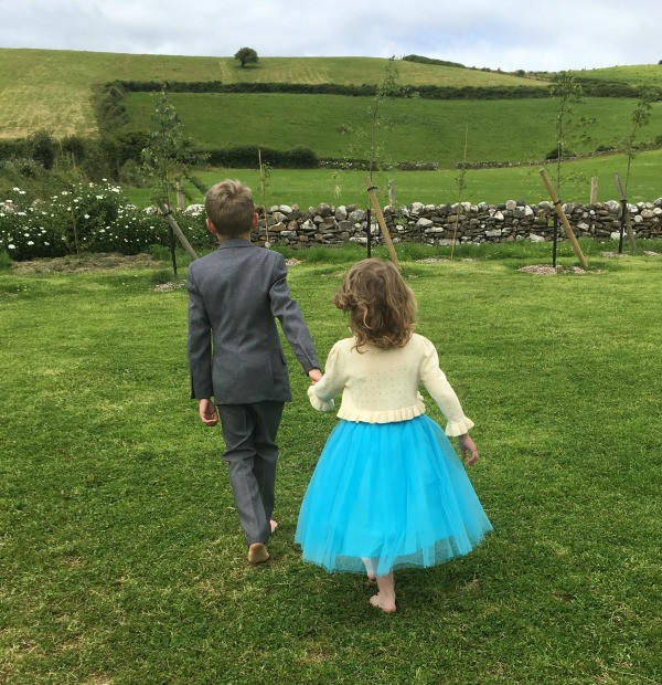 roco sienna dress and grey suit west of ireland