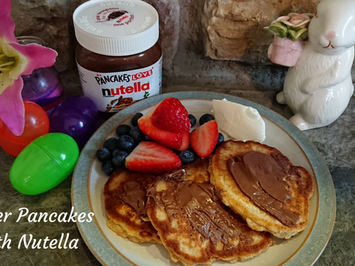 Easter Pancakes with Nutella