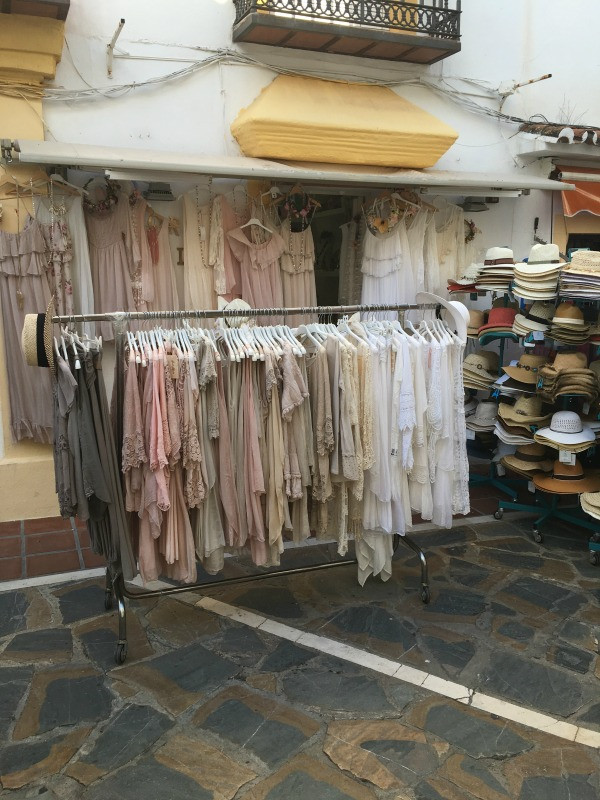 old town marbella shopping