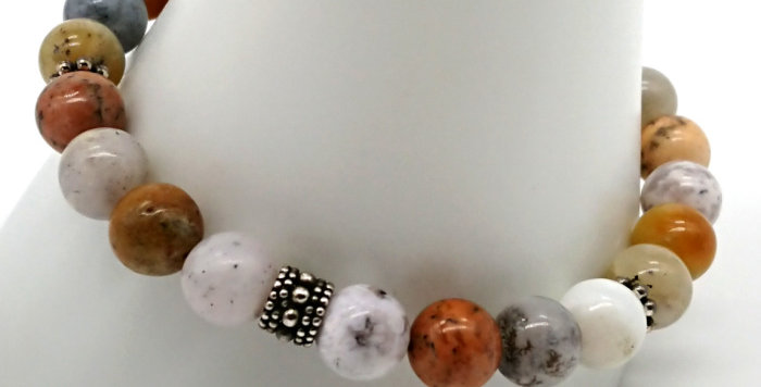 Earth Gift Bracelet - Dendritic Opal