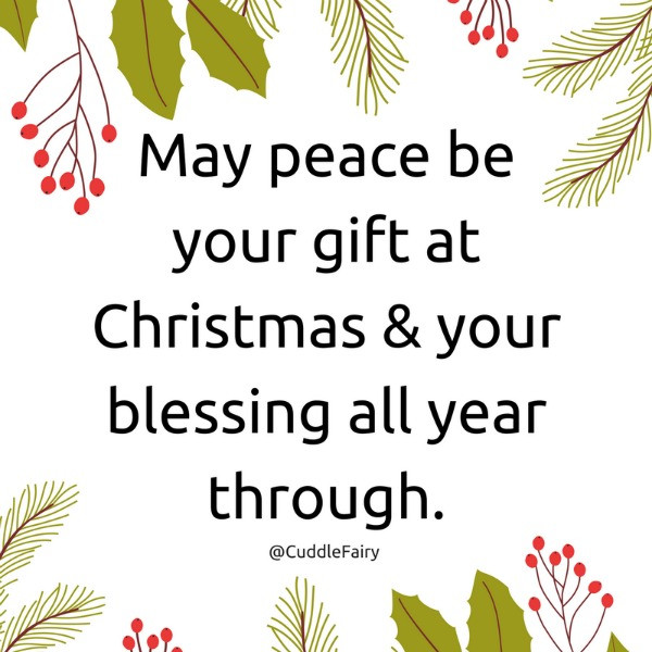 christmas peace quote