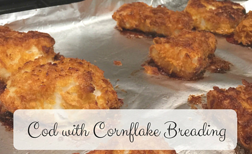 Cod with Cornflakes Breading