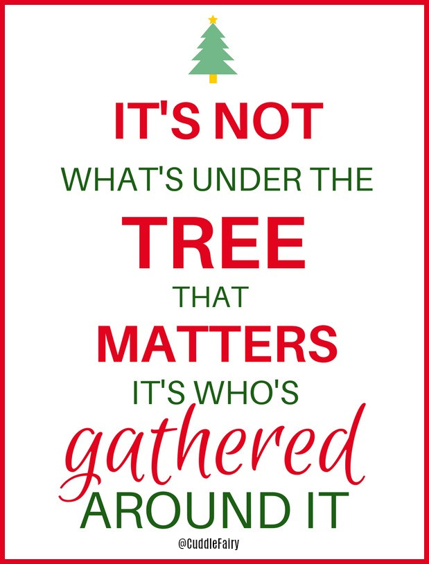 under the tree quote
