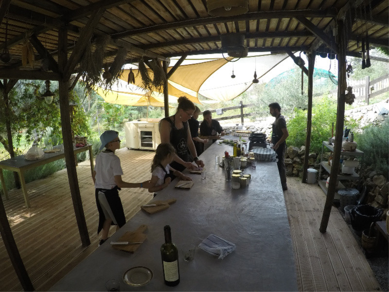 Family Cooking Class at The Olive Farm (Hand Picked Greece)