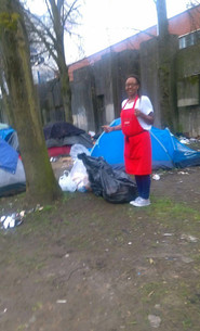 Helping the Homeless Camps
