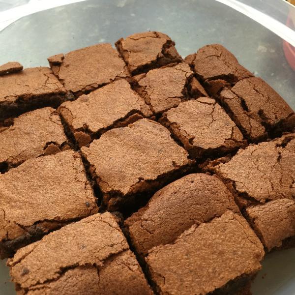 dark chocolate brownies 6