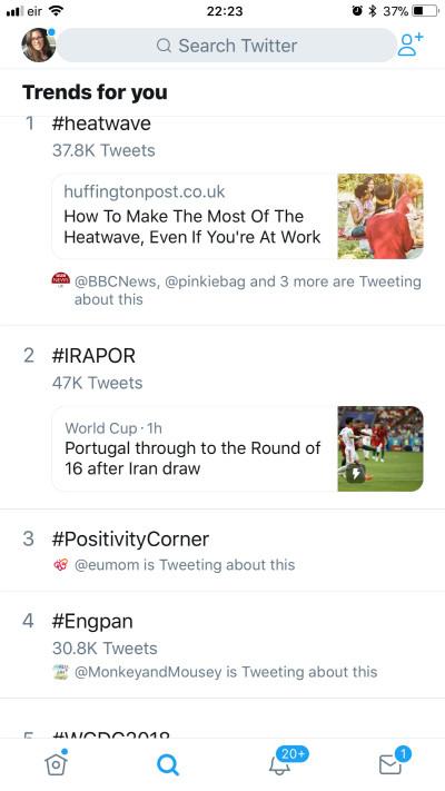 #positivitycorner trending