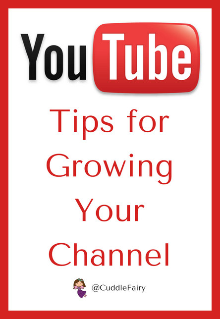 YouTube Tips for Growing Your Channel pin
