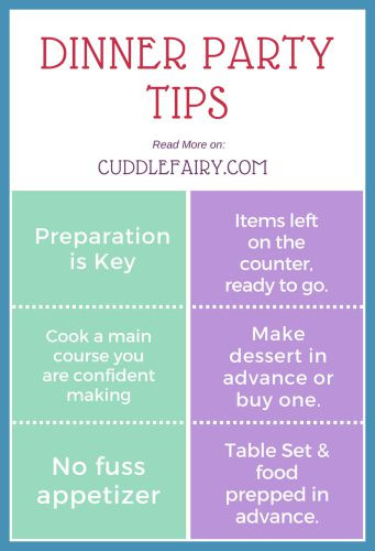 Dinner party Tips