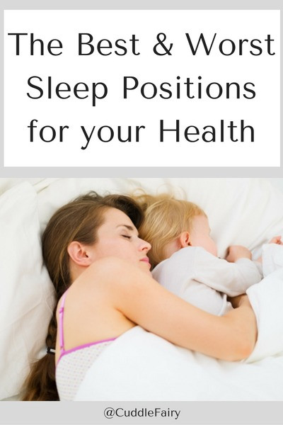 the best and worst sleep positions for your help pin