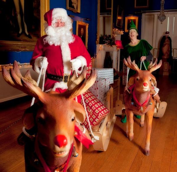 santa at westport house 7